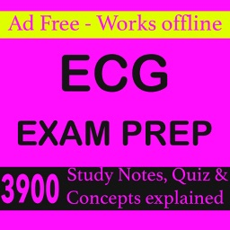 ECG Exam Prep-3900 Study Notes, Quizzes & Concepts