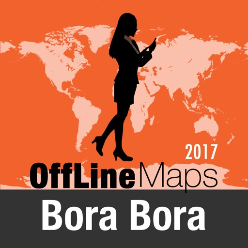 Bora Bora mapa offline y guía de viaje