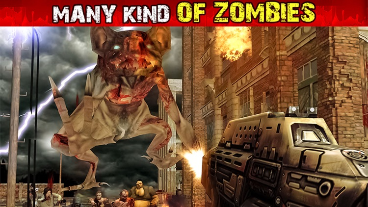 Dead Zombie Battles - Shoot Walking Zombies Games screenshot-2