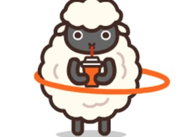 Franky Sheep animated stickers pack