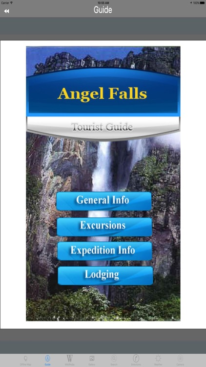 Angel Falls Highest Waterfall Tourist Travel Guide screenshot-3