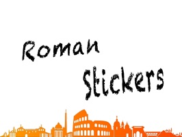 the first app of stickers with the most used words in rome