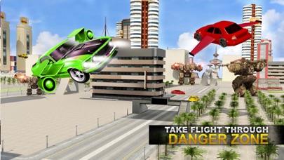 リアル ロボット ファイティング VS 飛行 車 ゲームのおすすめ画像4