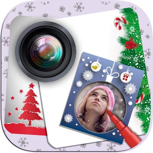 Christmas Photo Frame Maker – New Year greetings