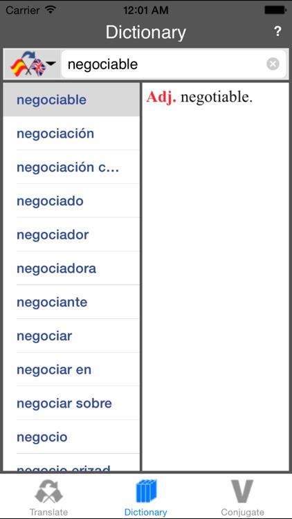 Spanish-English Translator (Offline) screenshot-4
