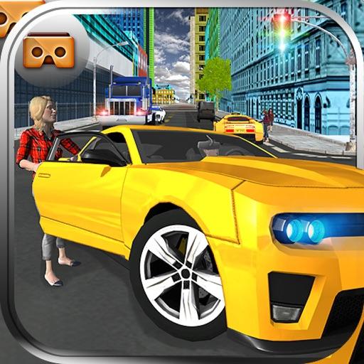 VR Taxi Driver Simulator