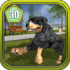 3D Rottweiler Simulator Dog Life on New York