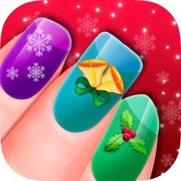 Christmas Nail Salon - Delicate Manicure Art Games