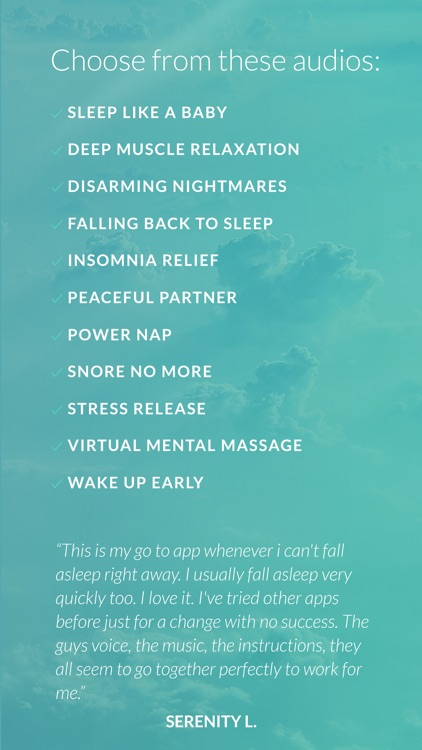Deep Sleep and Relaxation Hypnosis- Cure Insomnia screenshot-4