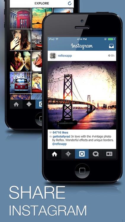 Reflex - Vintage Camera Photo Edit for Instagram screenshot-4