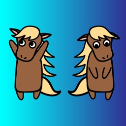 Kor the Horse Stickers
