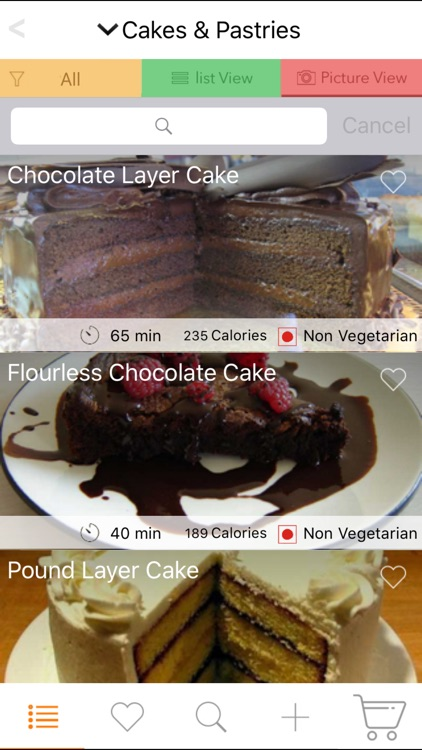 Dessert Recipes - Cake, Cheesecake, Pudding, Pies screenshot-4