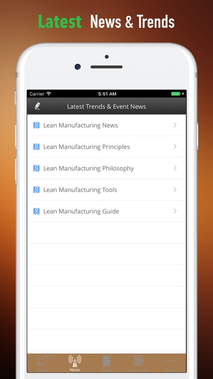 Lean Manufacturing 101-Video Lessons and Top News screenshot-4