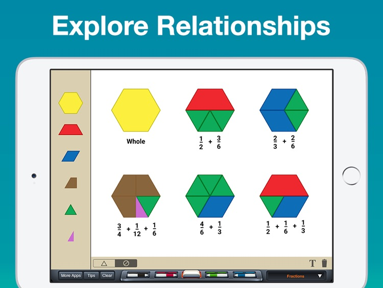 Pattern Blocks Manipulative screenshot-3
