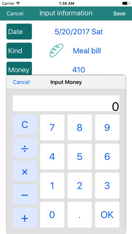 CashLogger - Simple account Book - screenshot-4