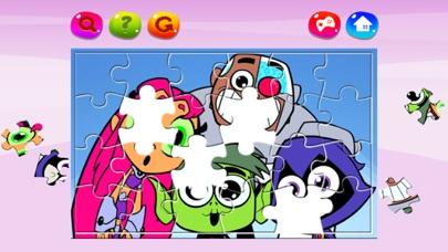 Cartoon Jigsaw Puzzles Box for Teen Titans Go