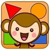 皮皮猴认形状 - 1-2岁宝宝游戏大全
