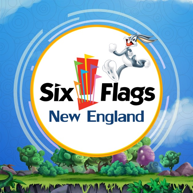 great app for six flags new england on the app store. Black Bedroom Furniture Sets. Home Design Ideas