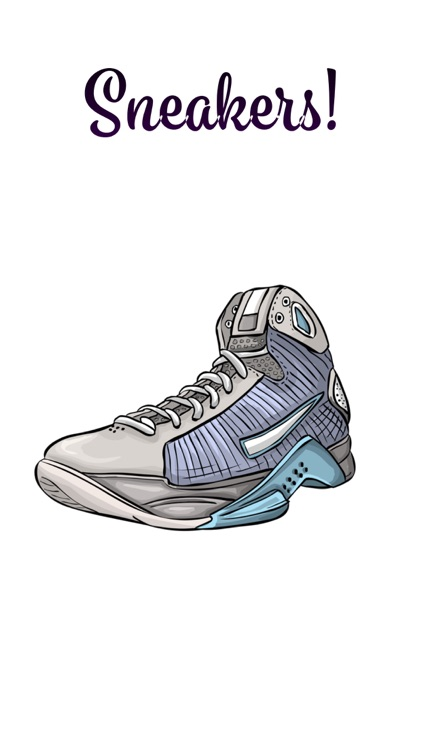 Sneakers Sticker Pack! screenshot-3