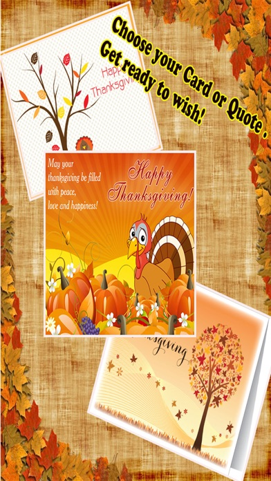 Happy Thanksgiving Day Greetings Card Maker screenshot three