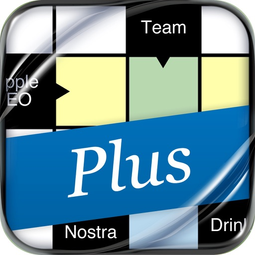 Crosswords: Arrow Words Plus for iPhone. Smart Crossword Puzzles icon