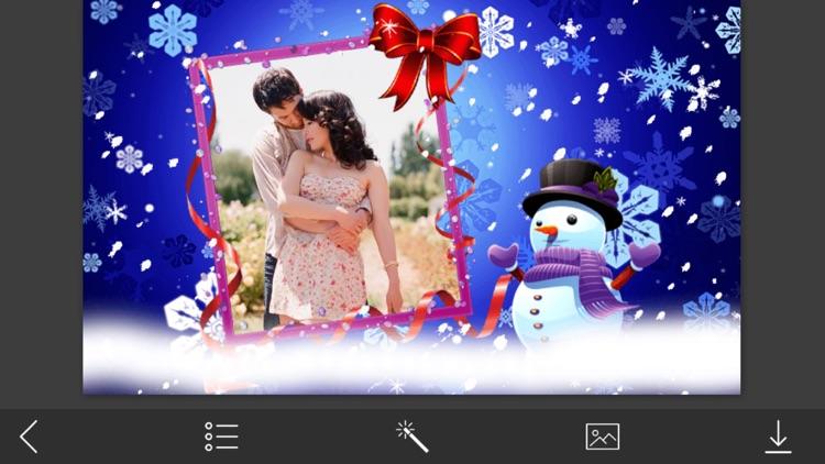 Winter HD Photo Frame - Creator and Editor screenshot-3
