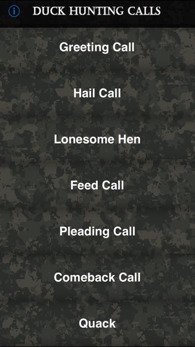 Duck Hunting Calls review screenshots