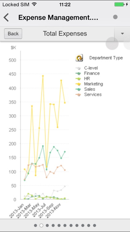 QlikView mobile screenshot-3