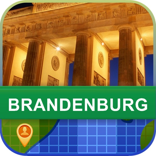 Brandenburg, Germany Map - World Offline Maps
