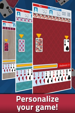 Gin Rummy - Classic Card Game - náhled