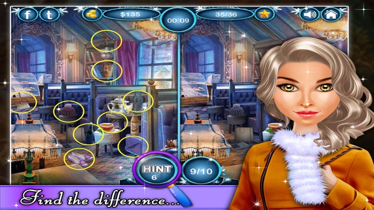 Power of Blizzard - Hidden Objects game for kids and adults screenshot-3