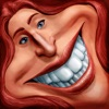 Caricature Hyper Face Morph from photos, camera shots or Facebook Reviews