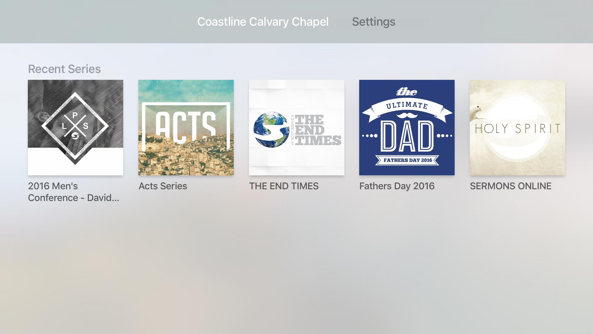 Coastline Calvary Chapel screenshot 7