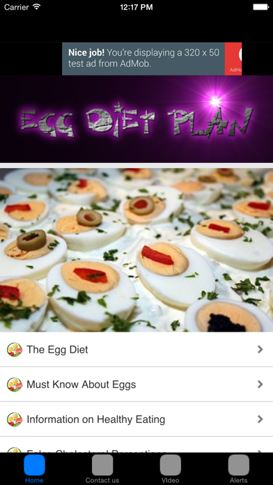 Egg Diet Meal Plan For Weight Loss screenshot one
