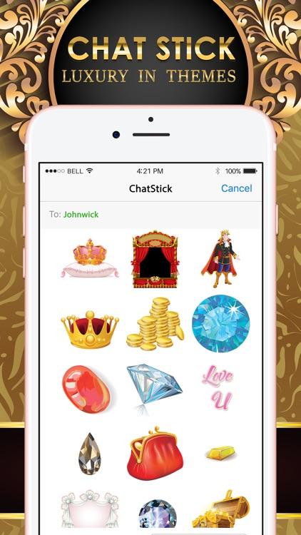 Luxury Emoji Stickers Keyboard Themes ChatStick