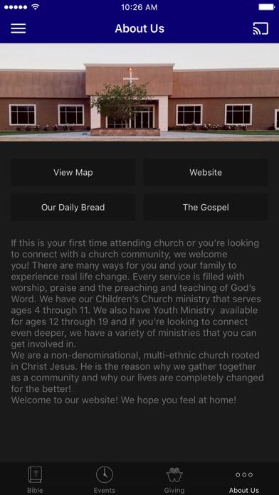 Agape Community Church, Ca screenshot 3