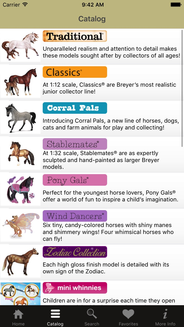 Breyer Model Horses Screenshot