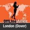 London (Dover) mapa offline y guía de viaje