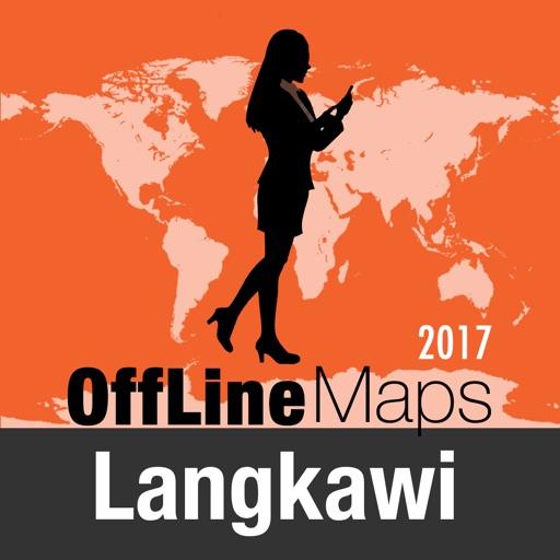 Langkawi mapa offline y guía de viaje