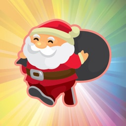 Cheerful Santa Claus for Christmas - Fx Sticker