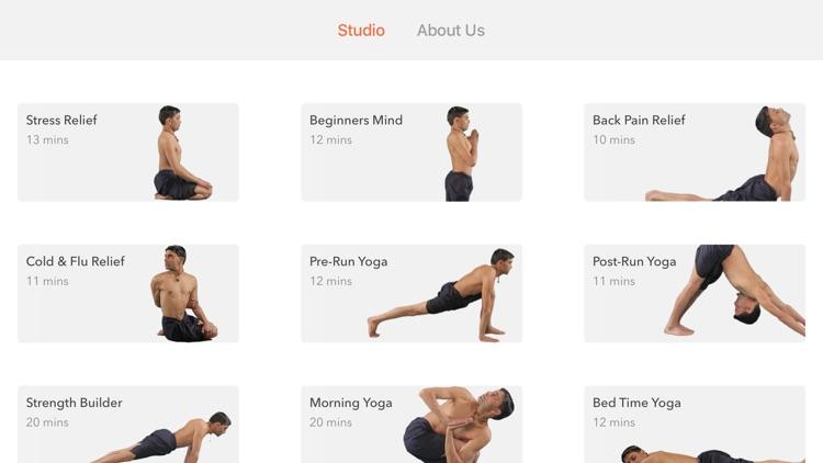 Track Yoga – A Simple Yoga App