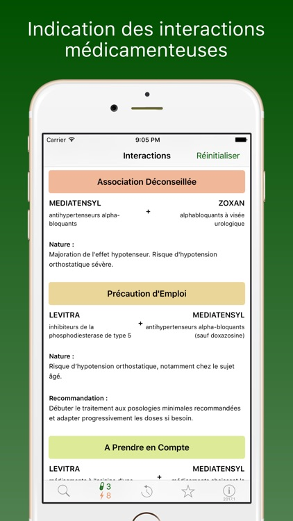 Médicaments 2017 screenshot-3