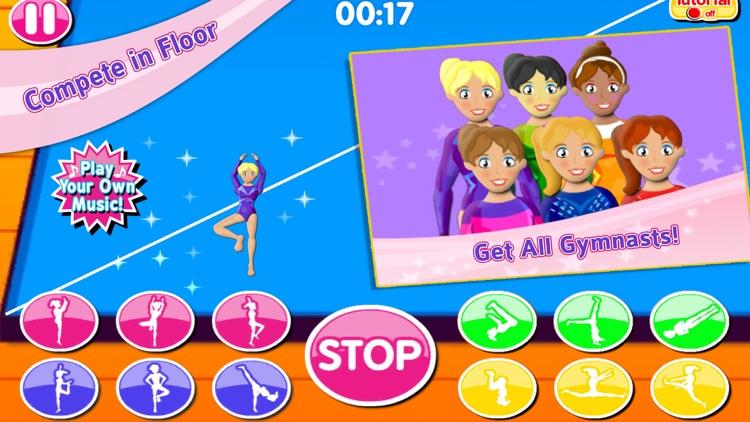 Elite Gymnastics Events Games screenshot-3