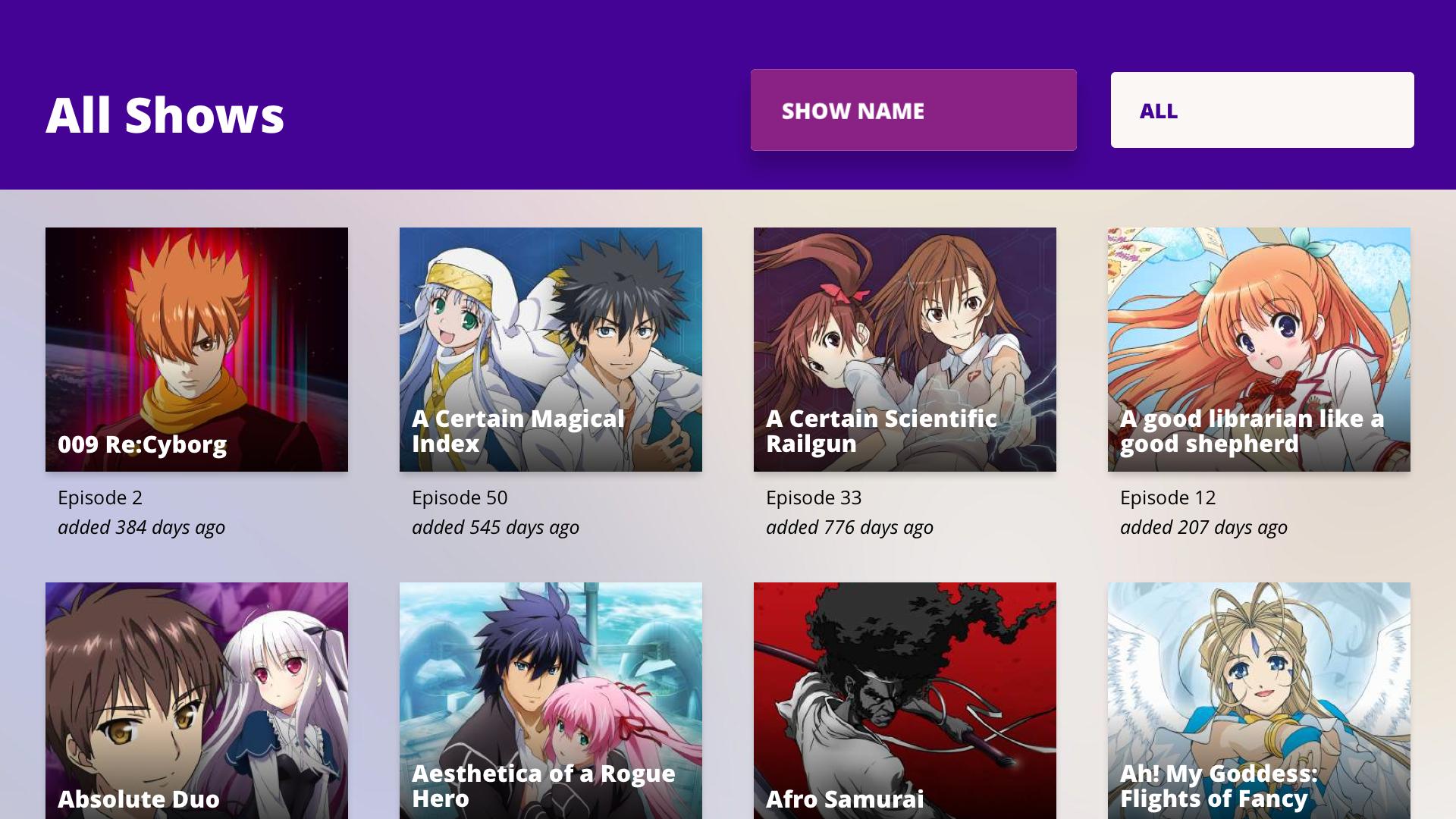 Funimation screenshot 14