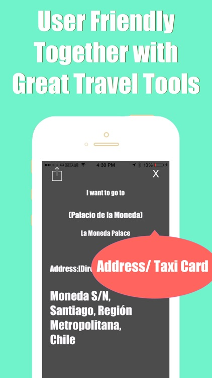 Santiago metro transit trip advisor gps map guide screenshot-3