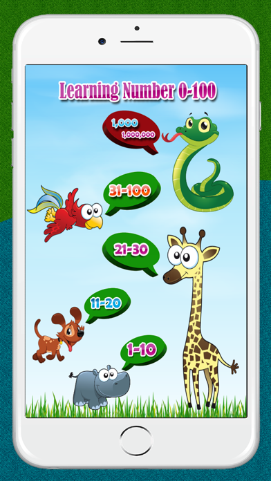 Learn Numbers 1 to 100  Free Educational game