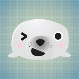 Sticker Me: Seal Faces