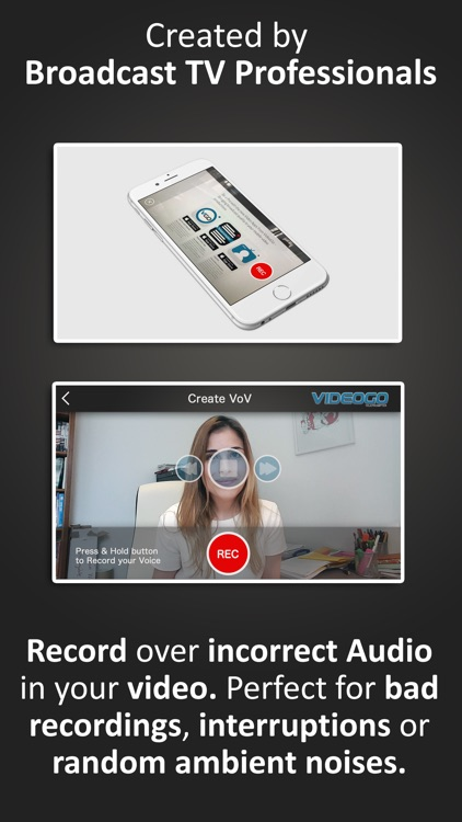 Voice Over Video from VideoGo