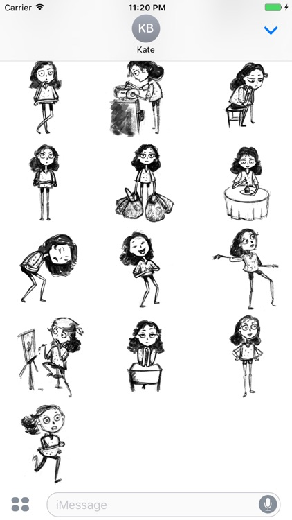 Sketch Life Stickers