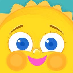 Ícone do app Bom Dia Luz Do Sol Elevação, Brilho, Emoji Adesivo